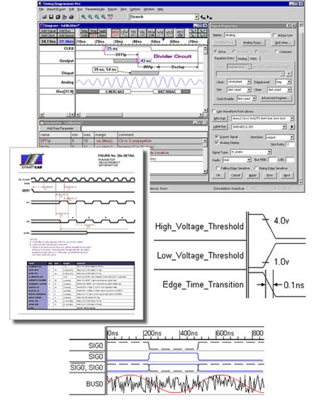 timing diagram editor synapticad tools import xilinx timing information