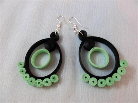 beautiful easy paper quilling jewellery designs