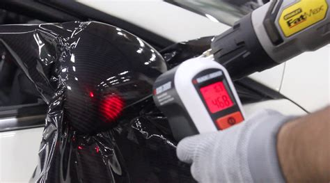 Harga Clear Auto Glow post heating for vehicle vinyl wrap installations cws