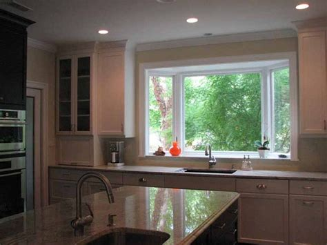 Kitchen Sink Windows Bay Window For Kitchen Windows Doors