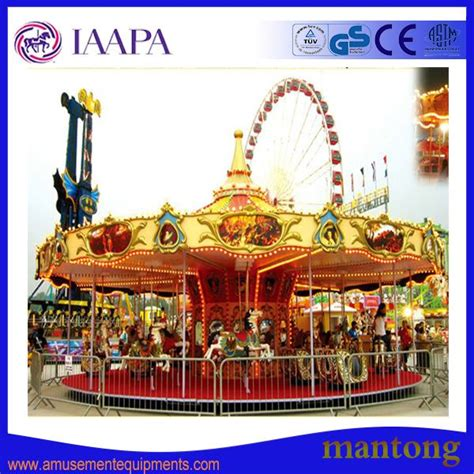 Supplier Merry Set By Dtya equipment from china funfair kiddie rides mini carousel