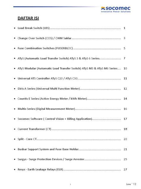 Lbs Socomec Sirco 3p 125a Load Switch On Handle Handel price list socomec international electrotechnical commission