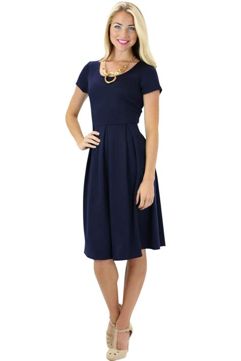 Modest Dresses by Modest Dress In Navy