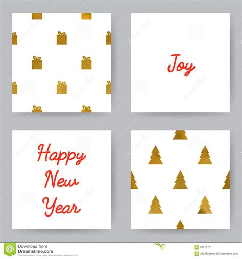 new year place cards templates cards stock vector image 63713101