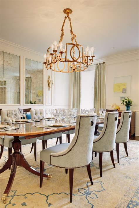 Dining Room Chair Ideas by Impressive Tufted Dining Chairs With Nailheads Decorating