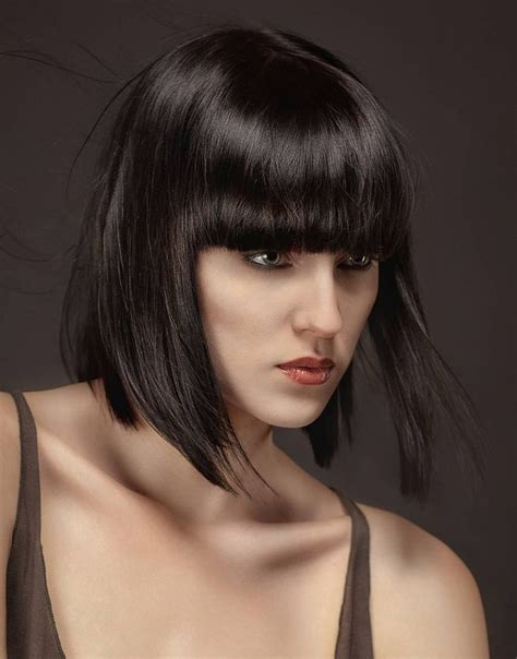 black hair styles to wear when your hair is growing out http rixxs com wp content uploads 2013 12 black bob edgy