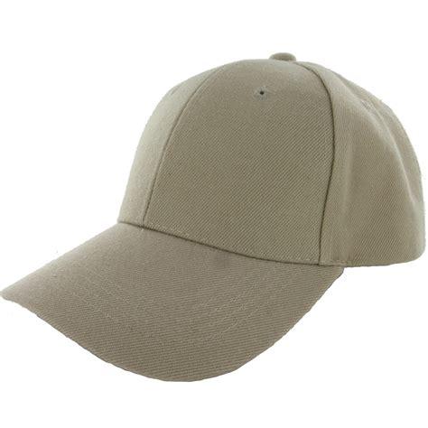 Baseball Cap Topi 23 plain baseball cap solid color blank curved visor hat
