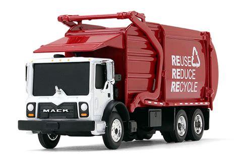 gear replicas mack terrapro front  loader garbage truck