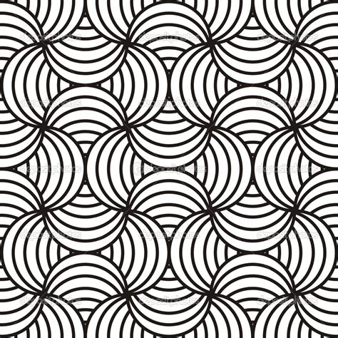 new pattern vector home design abstract black white design stock vector