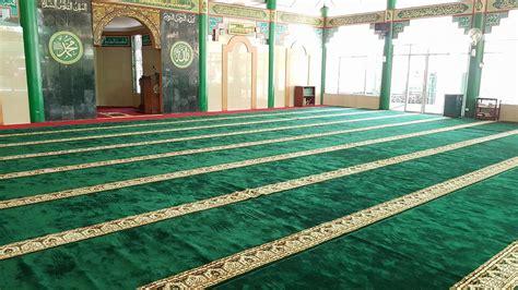 Karpet Masjid Tebal Surabaya jual karpet sajadah masjid turki roll berkualitas tebal di