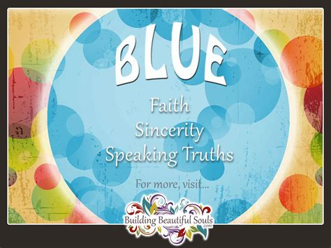 what does the color blue mean what does the color blue represent aura color meaning