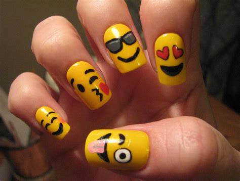 emoji nail art tutorial emoji nail art tutorial youtube
