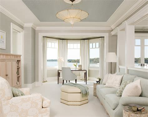Living Room Ceiling Colors Hue Home Sky S The Limit Painted Ceilings