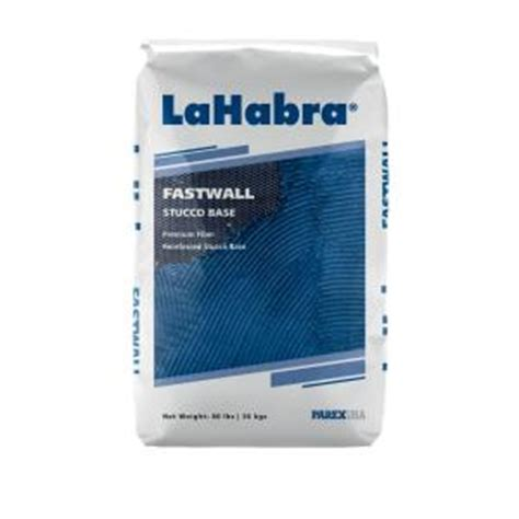 lahabra fastwall stucco base 80 lb one coat concentrate