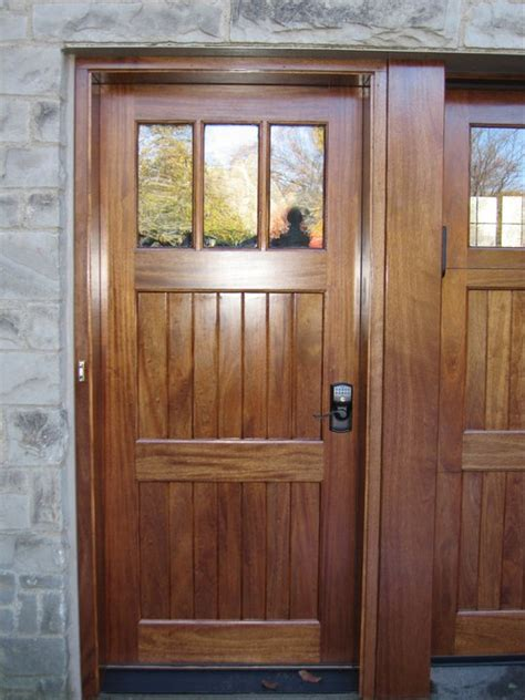 Custom Wood Exterior Doors Clingerman Doors Custom Wood Garage Doors Clearville Pa