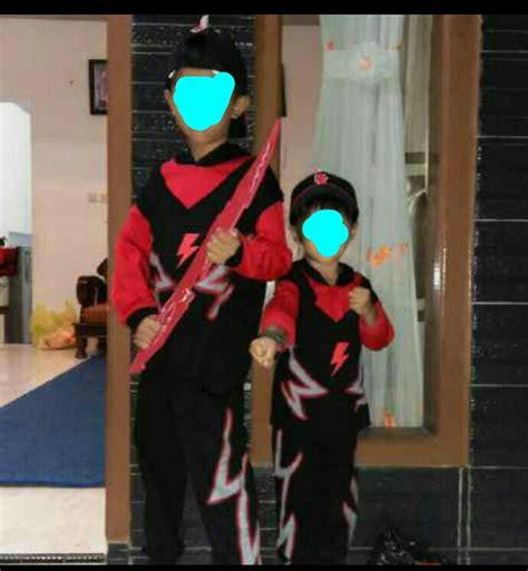 Boboi Boy Topi Halilintar 1 jual boboiboy halilintar pedang baju panjang celana panjang topi gelang arka colection