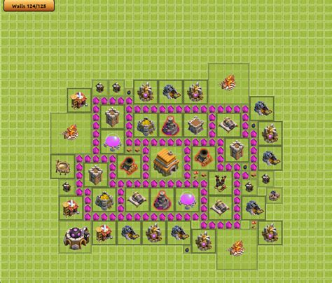 layout defesa cv 6 layout de defesa cv6 clash of clans dicas clash royale