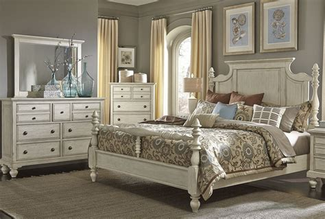 poster bedroom furniture high country white poster bedroom set from liberty 697 br