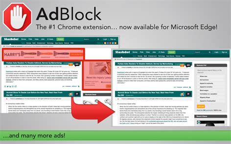 chrome mobile adblock adblock and adblock plus now available for microsoft edge