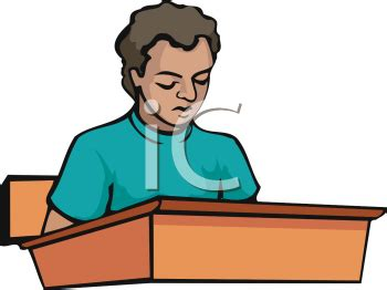Good Student Sitting At Desk Clipart Clipart Panda Student Sitting At Desk Clipart