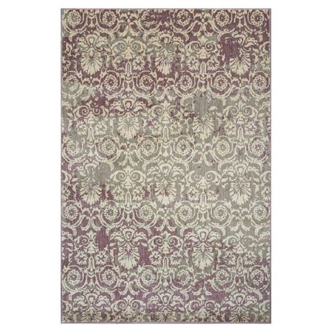 7 Ft Rugs by Kas Rugs Vintage Class Plum 7 Ft 7 In X 10 Ft 10 In