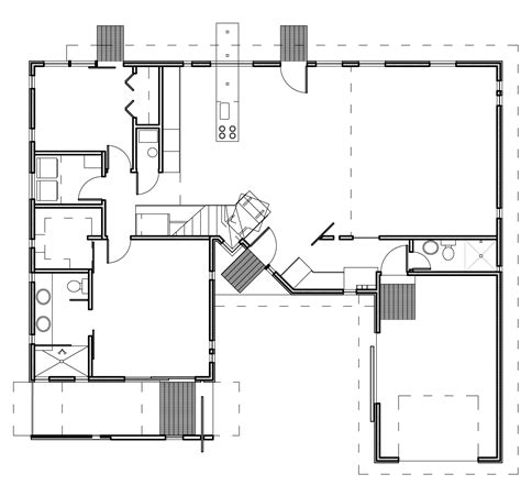 floor plan of a modern house modern house plans contemporary home designs floor plan 03