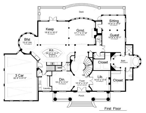 plantation house floor plans colonial greek revival plantation house plan 72163