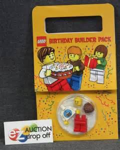 Lego Favor by New Lego Minifig Set Happy Birthday Builder Favor