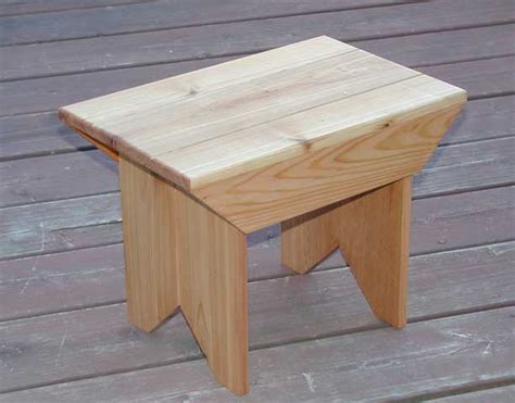 woodwork small wood stool plans  plans