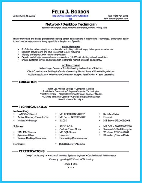 audio visual technician resume sle network cable installer cover letter benefits of