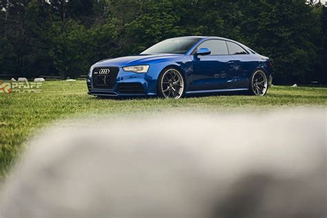 custom blue custom audi rs5 in sepang blue is sheer beauty autoevolution