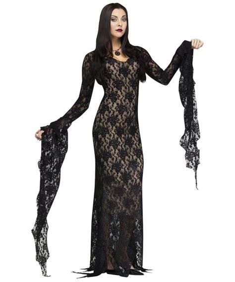 womens costumes lace morticia womens costume costume