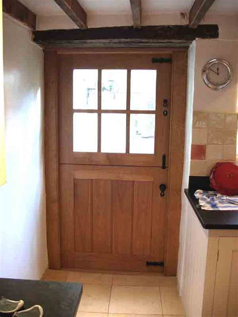 Traditional Carpentry Joinery Oak Doors Bespoke Stable Front Doors