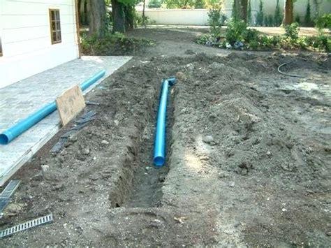 drainage verlegen anleitung mit bilder 6797 garten drainage hangscer club