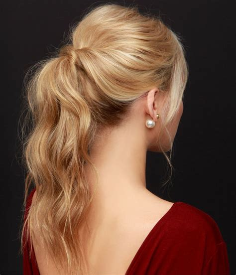 perfect ponytail hairstyles for prom party 2015 full dose
