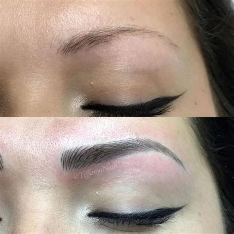 hair stroke eyebrow tattoo 3d hair stroke eyebrow 3d hair stroke semi