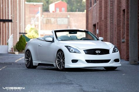 infiniti g37 custom parts custom kit and vossen rims for infiniti g37