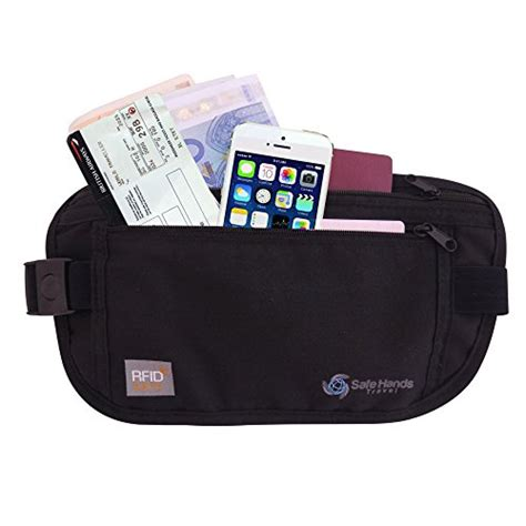 comfortable money belt money belt with rfid protection ideal for travel