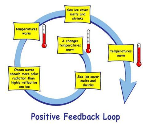 feedback loop diagram nasa climate winners and losers in the arctic