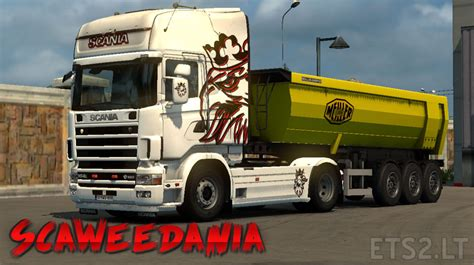 scania 4 series skin ets 2 mods
