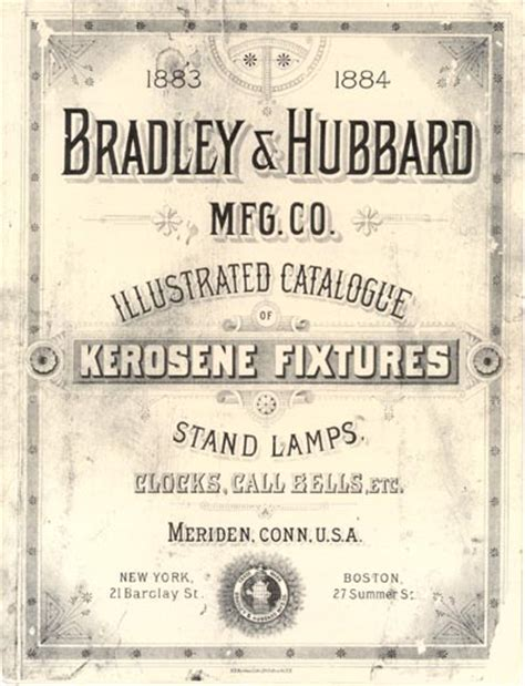 bradley hubbard l catalog bradley and hubbard manufacturing company the lworks