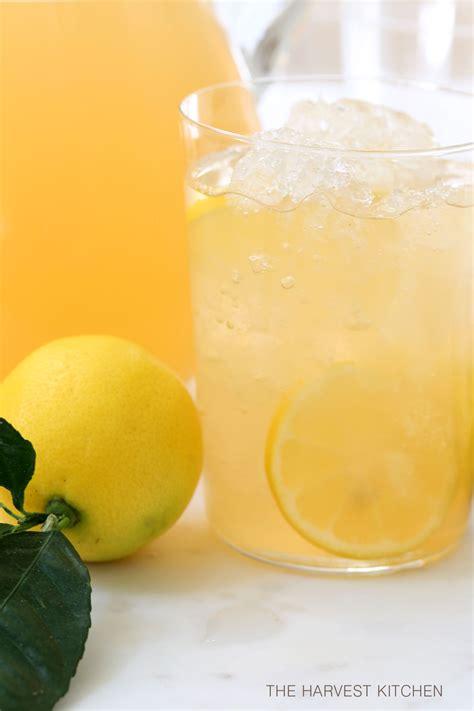 Lemon Detox Harvest Kitchen by Iced Green Tea With Apple Lemon And The Harvest