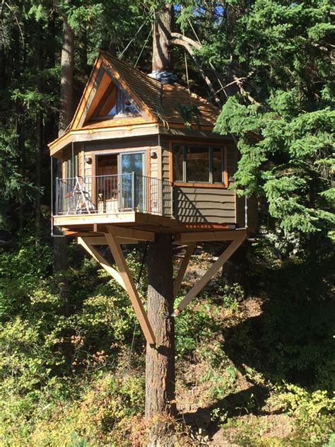 three house osprey treehouse at the resort at skamania coves 1