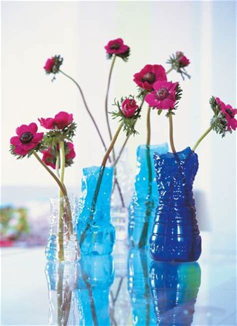 vaso fai da te un vaso di fiori fai da te con una bottiglia di plastica