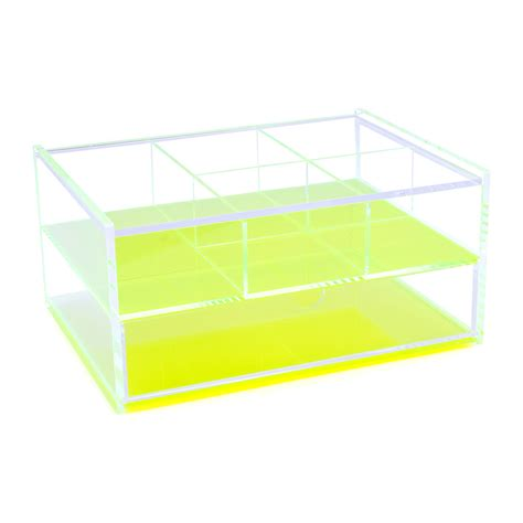 Acrylic Neon Box buy lund flash blocco acrylic box neon green