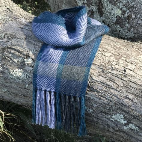 Sale Denim Scarf sale denim blue alpaca scarf felt