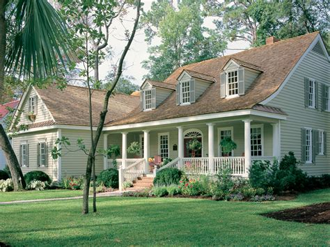 southern cottage small house with ranch style porch small house plans