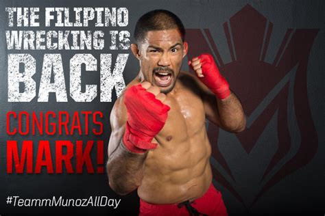 mark the filipino wrecking machine munoz fight results filipino american mark mu 241 oz wins farewell fight at ufc