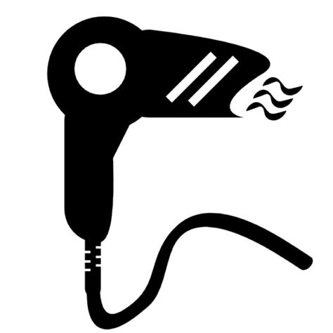 Hair Dryer Vector Free hair dryer icons free