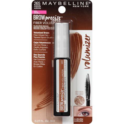 Maybelline Bow Precise Fiber Volumizer maybelline new york brow precise fiber volumizer eyebrow mascara brows health